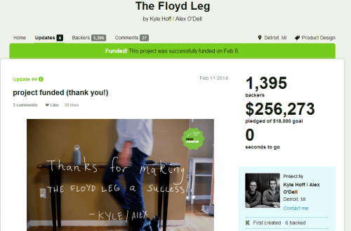 The Floyd Leg by Kyle Hoff